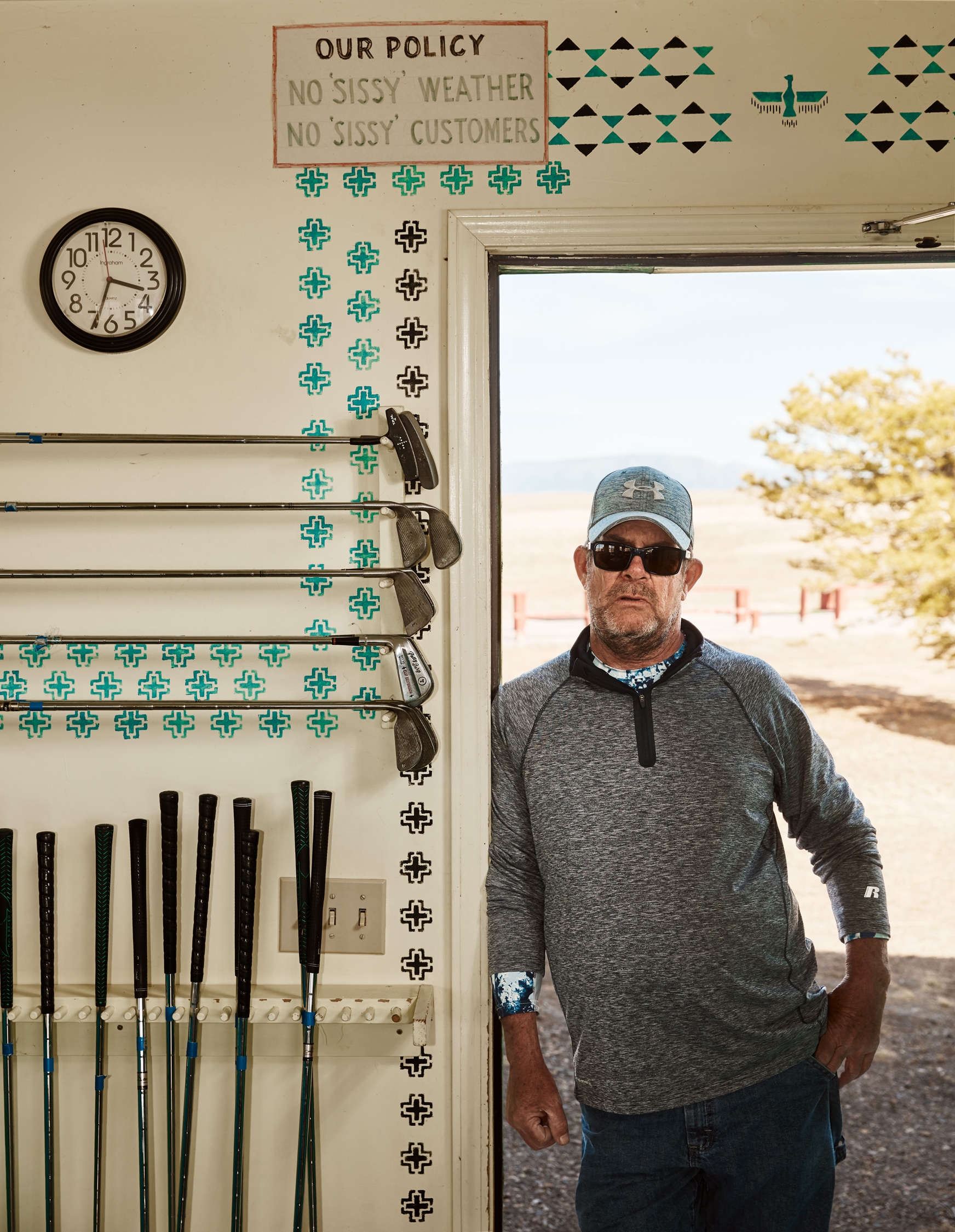 Chino Valley Golf Range - Stephen Denton - Los Angeles, California Based Commercial Photographer