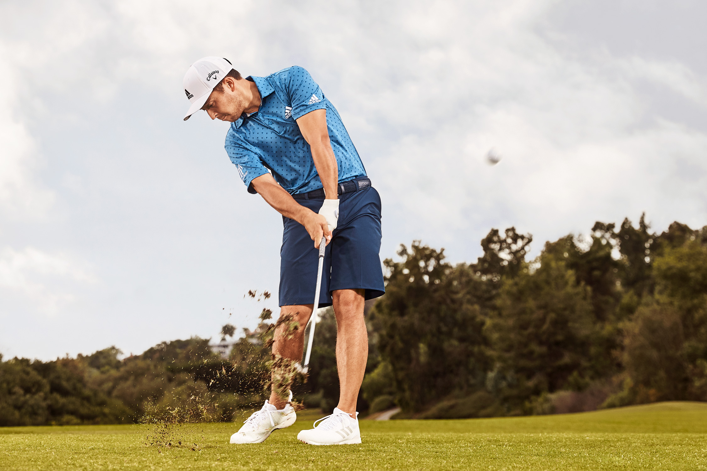 Xander Schauffele - Golf Magazine  - Stephen Denton Photography -  Los Angeles, California based  Commercial Photographer