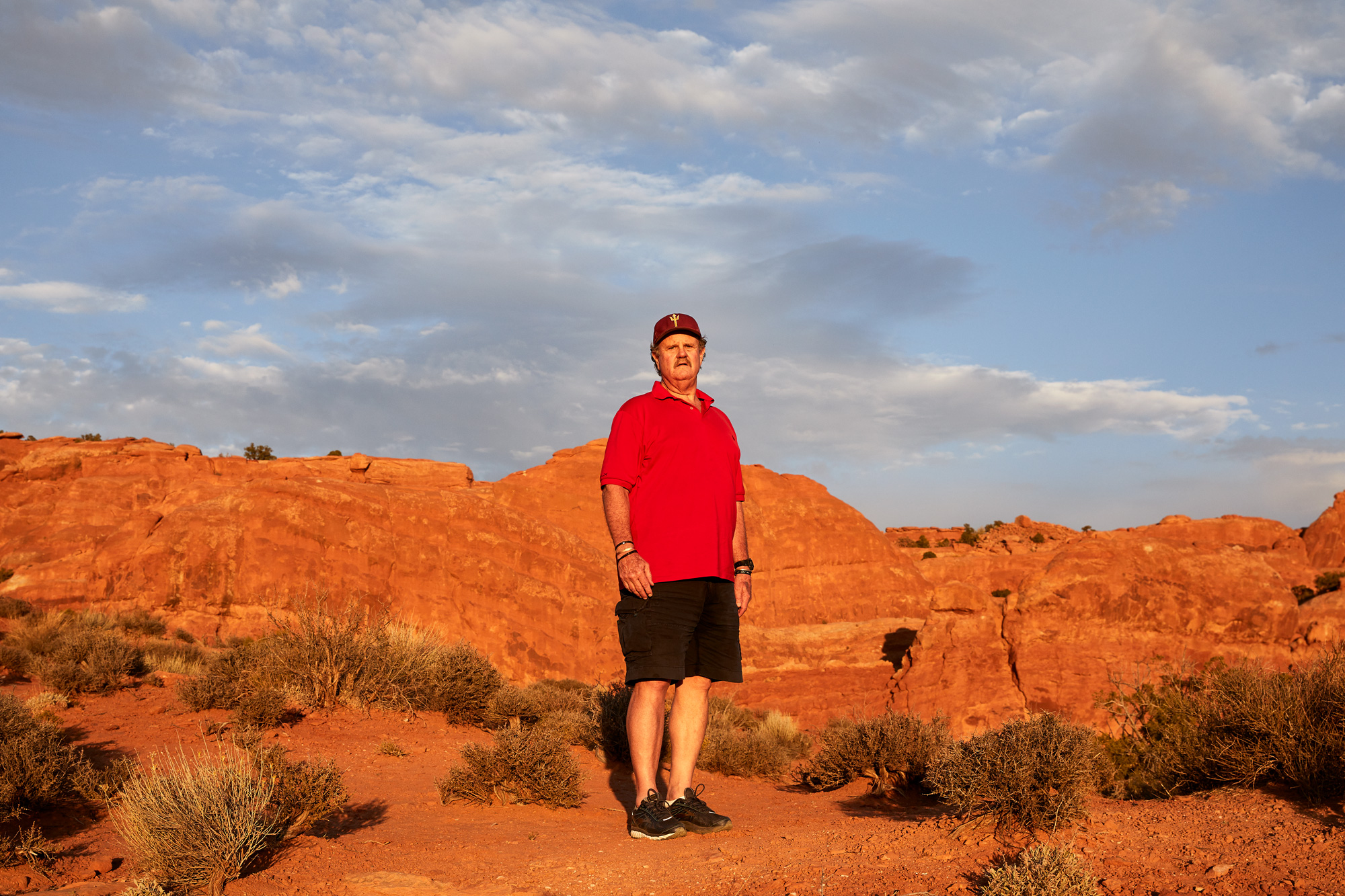 Dad Hits The Road - Arches National Park, UT  - Stephen Denton Photography - Phoenix AZ Commercial Photographer