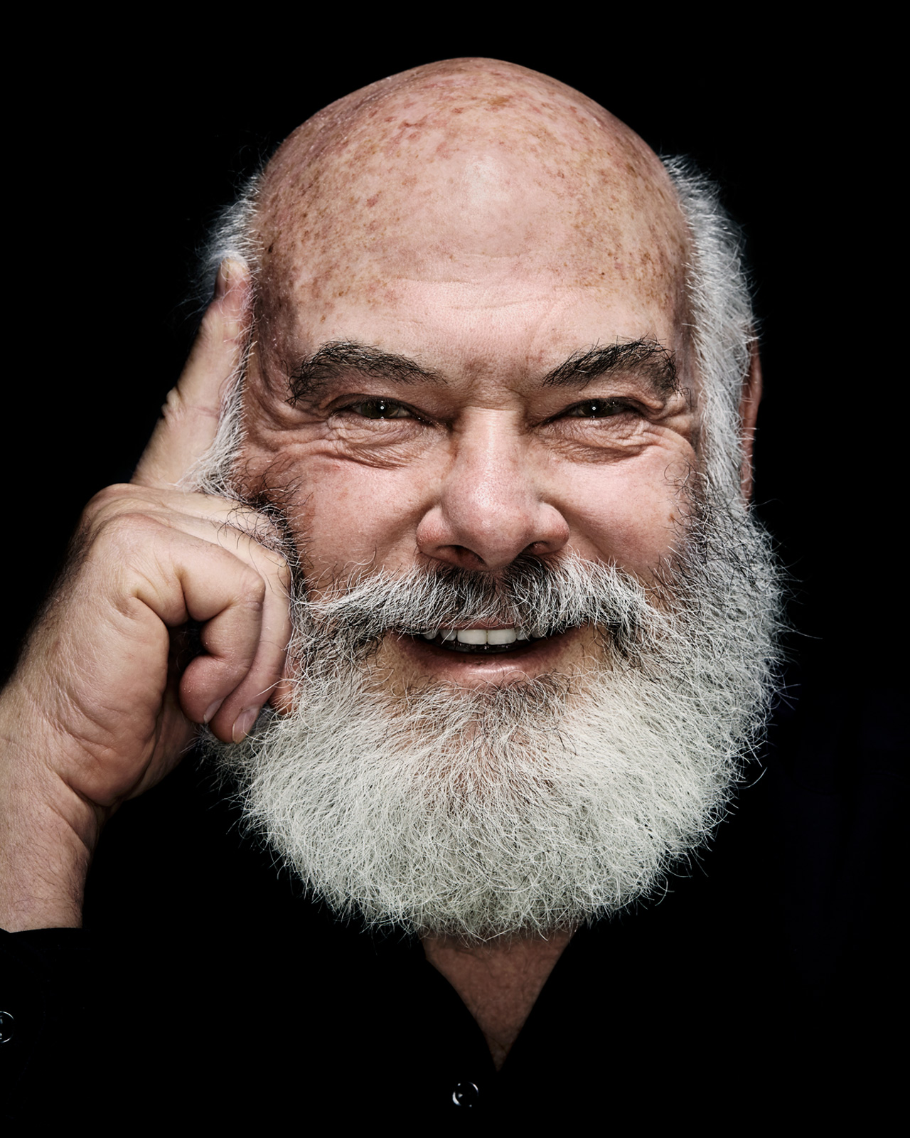 Dr. Andrew Weil - Studio Portrait - Stephen Denton Photography - Phoenix AZ Commercial Photographer