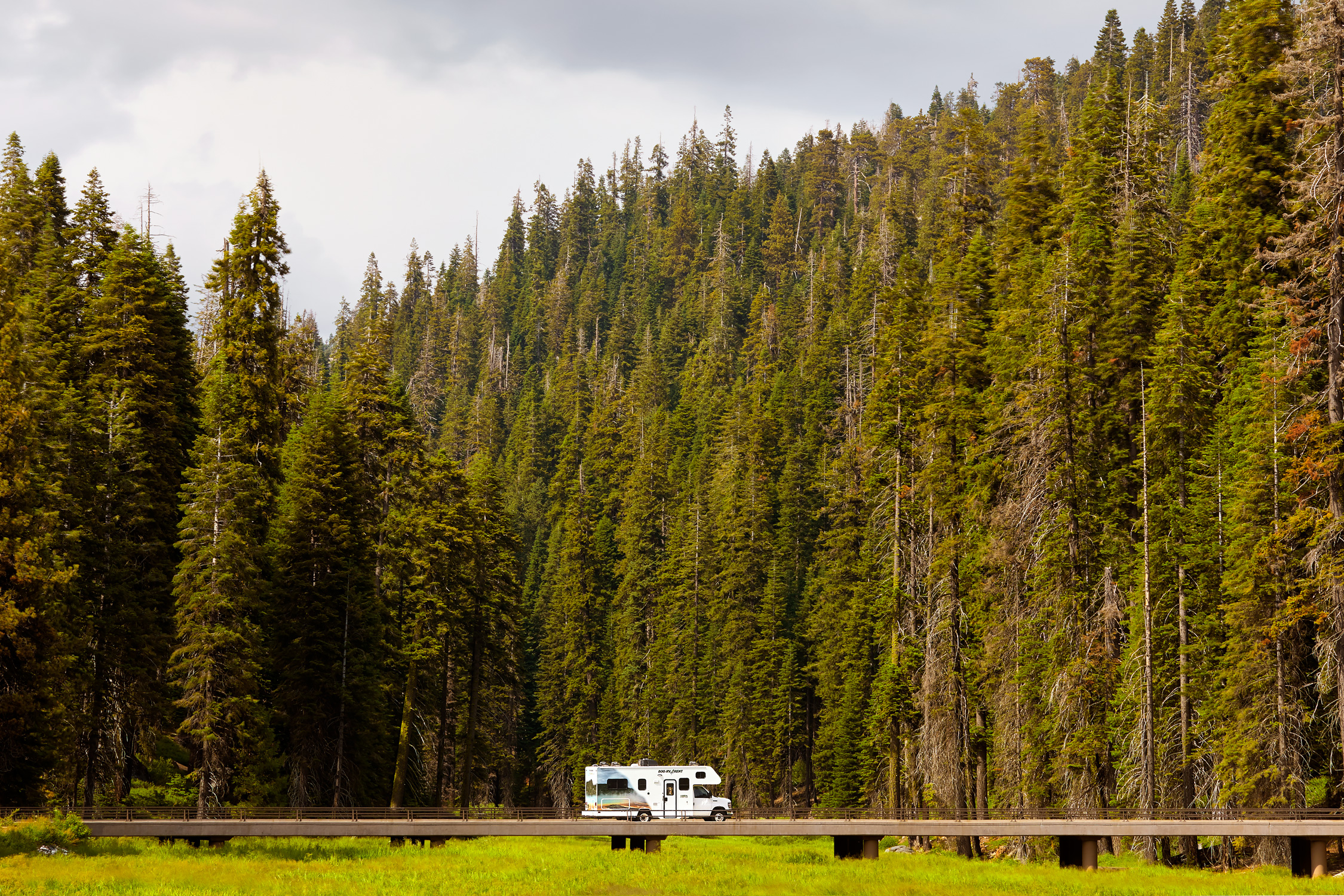 Cruise America - Sequoia National Park -  Stephen Denton Photography - Phoenix AZ Commercial Photographer