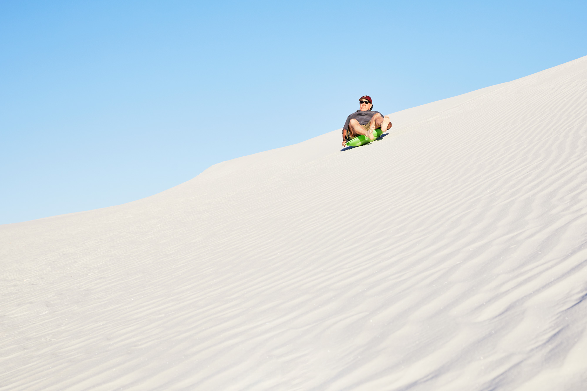 Dad Hits The Road - White Sands National Monument, NM - Stephen Denton Photography -  Los Angeles, CA / Phoenix, AZ Commercial Photographer